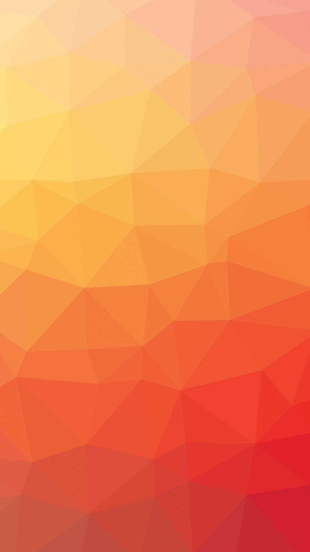 Simple Background Orange Pattern wallpaper 5